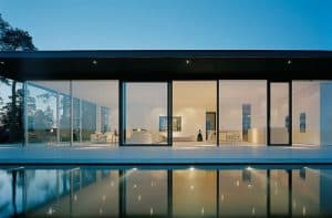 The Glassy House from The Girl with the Dragon Tattoo