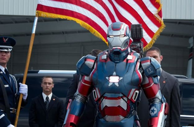 iron man 3 stars and stripes outfit