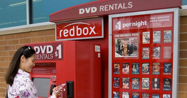 Red Box Rentals Starts Streaming