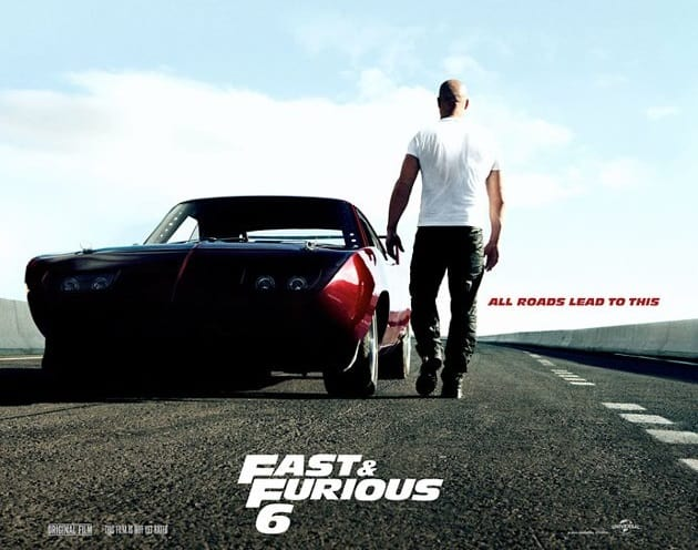 fast and furious 6 official movie poster