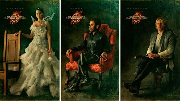 hunger games official movie portraits