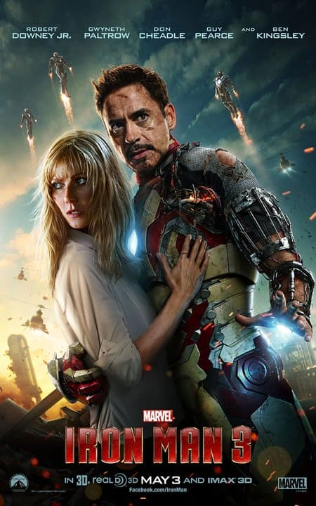 ironman 3 2013 movie poster