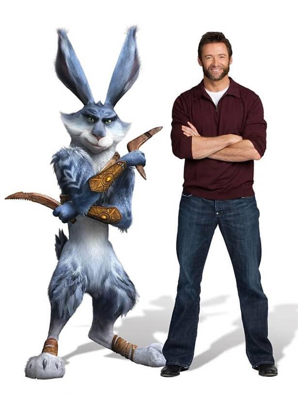 Hugh Jackman as Bunny
