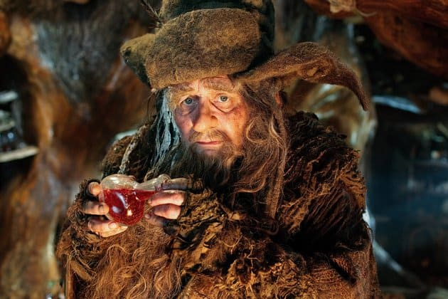Sylvester McCoy in New Line Cinemas The Hobbit An Unexpected Journey 2012