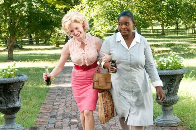 Jessica Chastain and Octavia Spencer in DreamWorks The Help 2011