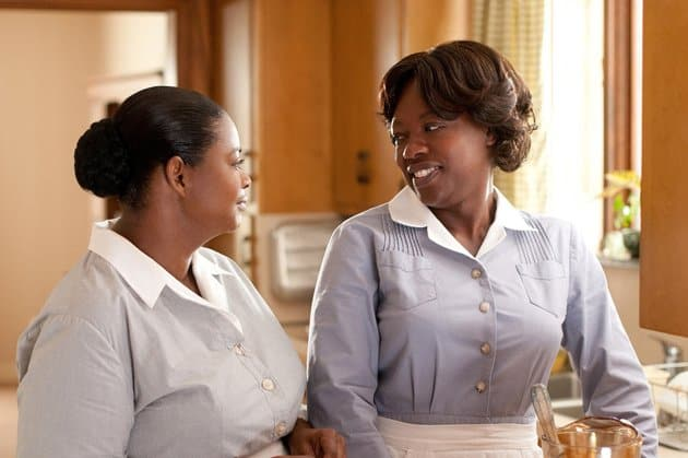 Jessica Chastain and Octavia Spencer in DreamWorks' The Help - 2011 Octavia Spencer and Viola Davis in DreamWorks'