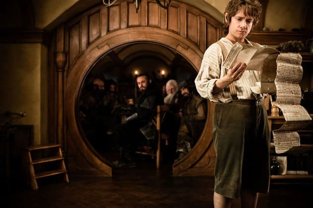 Martin Freeman in New Line Cinema's The Hobbit: An Unexpected Journey - 2012