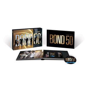 james bond 50 year blu ray collectors pack