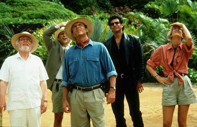 jurassic park movie stills