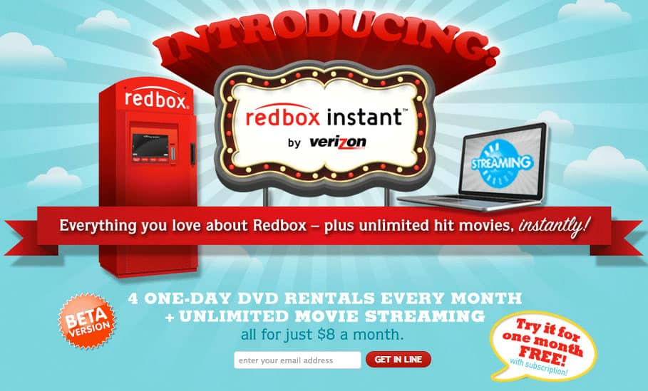 signup for redbox beta