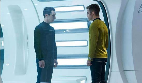 star trek into darkness 2013 movie stills exclusive ha ha i got yah